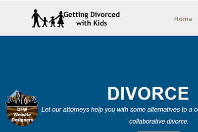 Getting Divorced with Kids by http://DFWWebsiteDesigners.com