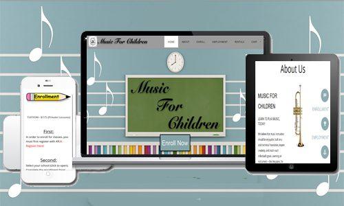 Music for Children's New Website