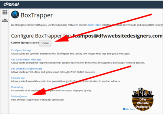 BoxTrapper Screen Shot2
