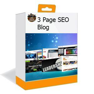 DFW Website Designers 3-Page Blog