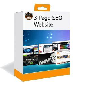 3-Page SEO Website