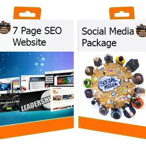 DFW Website Designers 7-Page Website with Social Media